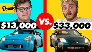 $13,000 Custom 350Z vs. $33,000 Custom 350Z | HiLow