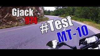 Gjack974 ► #Test ► Yamaha MT-10
