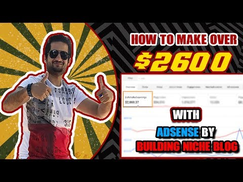 How to Make Over $2600 with Adsense By Building HIGH CPC Niche Blog