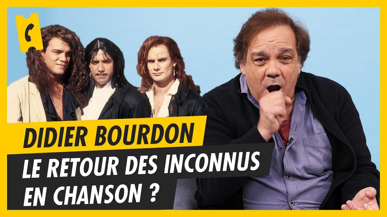 Didier Bourdon revient en chanson, les Inconnus aussi ?
