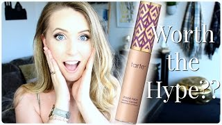 TARTE Shape Tape Concealer Review, Swatches, & Demo on Pale Skin