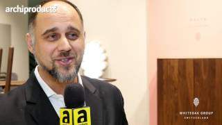 Imm Cologne 2017 | Whiteoak Group - Hasan H. Hasic talks about the new walnut and oak collections