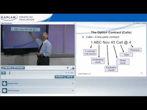 FINRA Series 7 Online Class Preview From Kaplan
