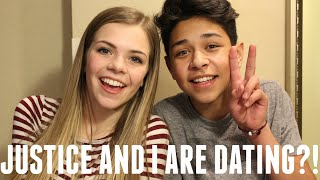 JUSTICE AND I ARE DATING?! | Griffin Arnlund