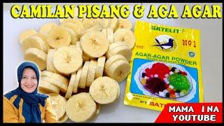 Download Paduan Camilan SUPER enak dari pisang dan agar agar. Buat nya gampang. Rasanya ISTIMEWA