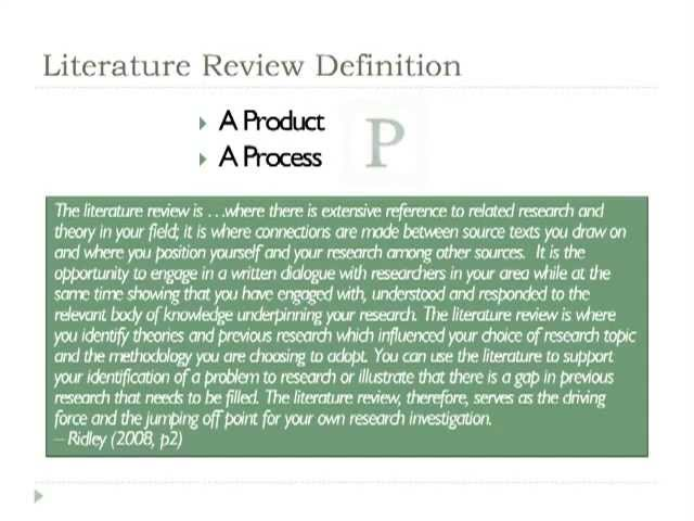 Developing a Critical Literature Review for Project Management     SlideShare Your literature review in context Your thesis must form a coherent whole Your literature review should