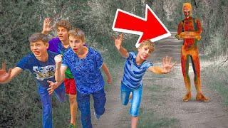ЗА НАМИ ГОНИТСЯ SCP 106 ДЕД СТАРИК!! (Крутые Детки) Cool Kids SCP серии
