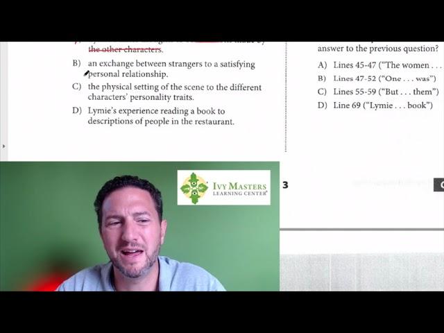 SAT Reading, Test 5, Section 1, Number 1