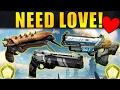 Destiny: 7 Exotic Guns that NEED LOVE!