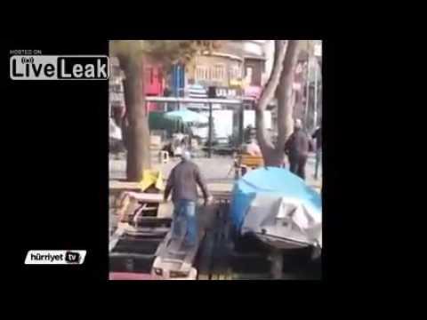 FailLeak - Wild Boar Attack in Istanbul