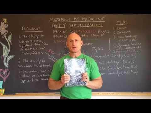 Movement As Medicine Pt. 4: Stabilization