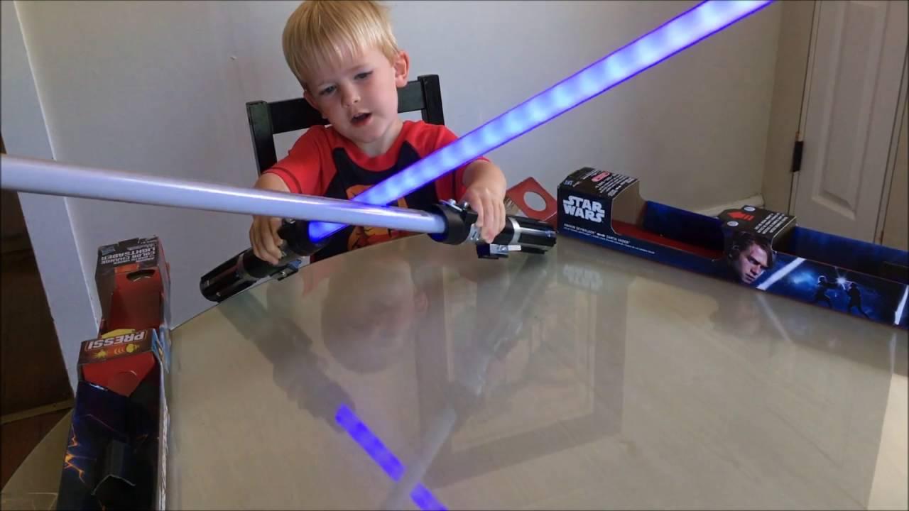 Real Target Lightsaber  sc 1 st  YouTube & Knockoff Amazon Light Saber vs. Real Target Lightsaber - YouTube