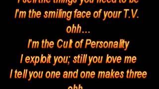 cult of personality w/ lyrics