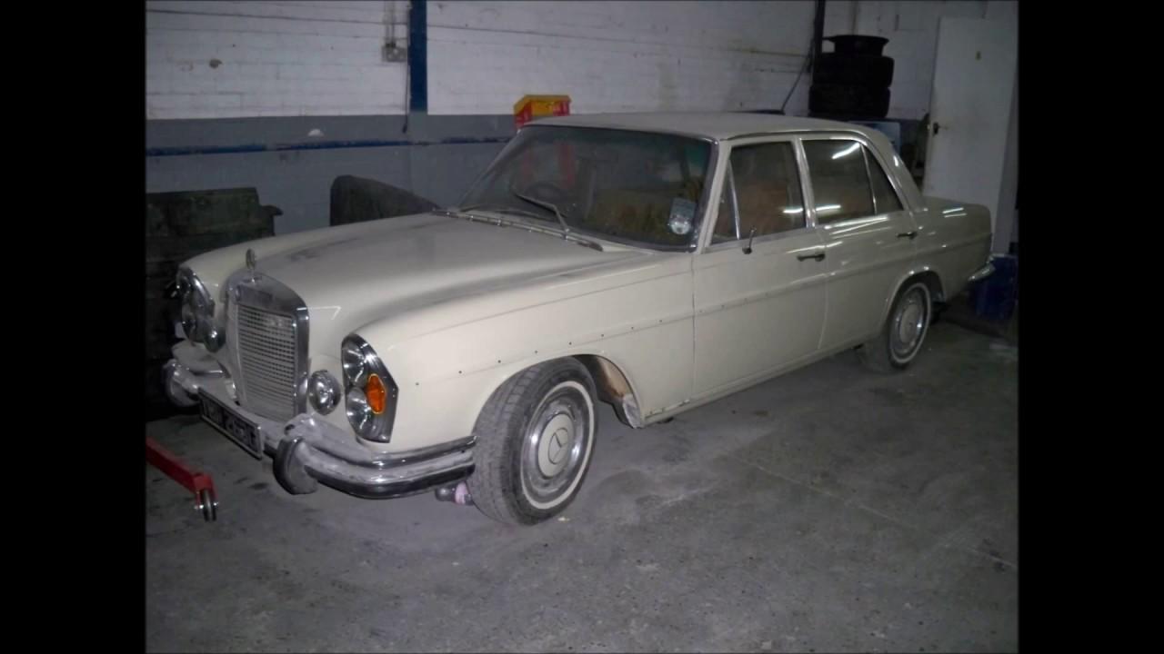 Mercedes W114 restoration by BestPriceGarage co uk