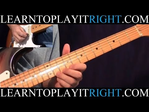 Pride and Joy Solo - Stevie Ray Vaughan - Fast and Slow (HD)