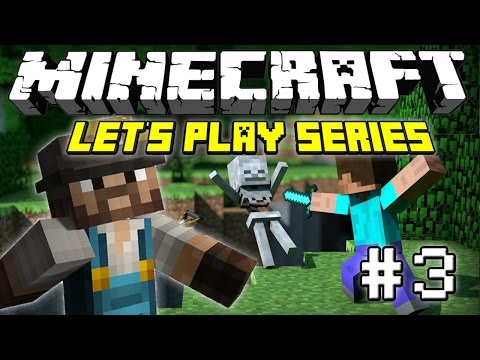 I HATE ENDERMAN!! (Minecraft Let's Play Series - Episode 3)