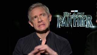 BLACK PANTHER Andy Serkis & Martin Freeman say Ryan Coogler is Amazing Director