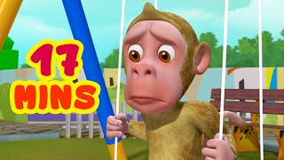 Bandar Mama Aur Jhoola and much more | Hindi Rhymes for Children | Infobells
