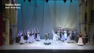 "Don Quichotte ""Fandango"" Osipova Ballet Saint-Petersbourg"
