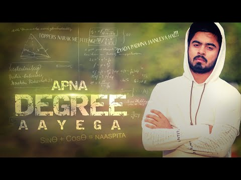 Apna Degree Aayega | Gully Boy Spoof || HALF ENGINEER