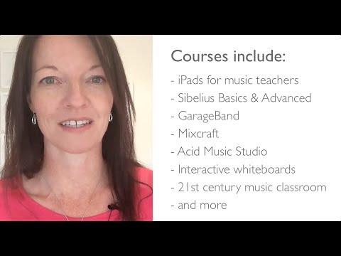 Music Technology Online Courses for Teachers