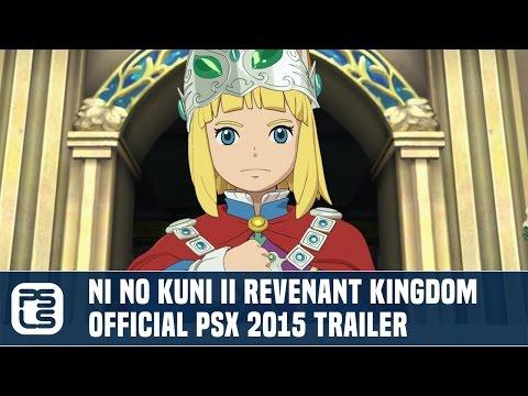 [Video] Ni No Kuni II Revenant Kingdom - Official PSX Trailer