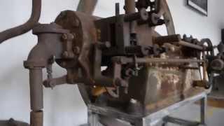 Warchalowski,Stationärmotor,stationary engine,slide valve,Schiebermotor