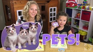Learn English Colors and Animals! Puzzles with Sign Post Kids!