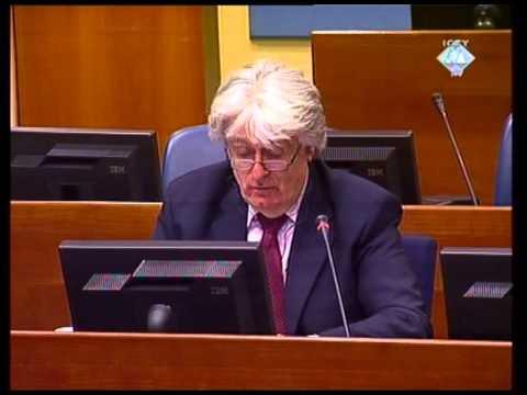 Uvodne riječi odbrane - Karadžić (Deo 1/3) - 01. mart 2010.