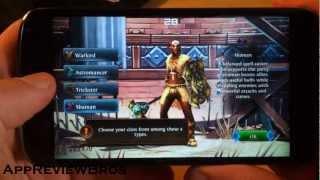 Dungeon Hunter 3 - Nexus 4 - Gameplay [Android]