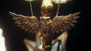 Dumbledore's Golden Owl  | Necklace/Magnet | Harry Potter DIY