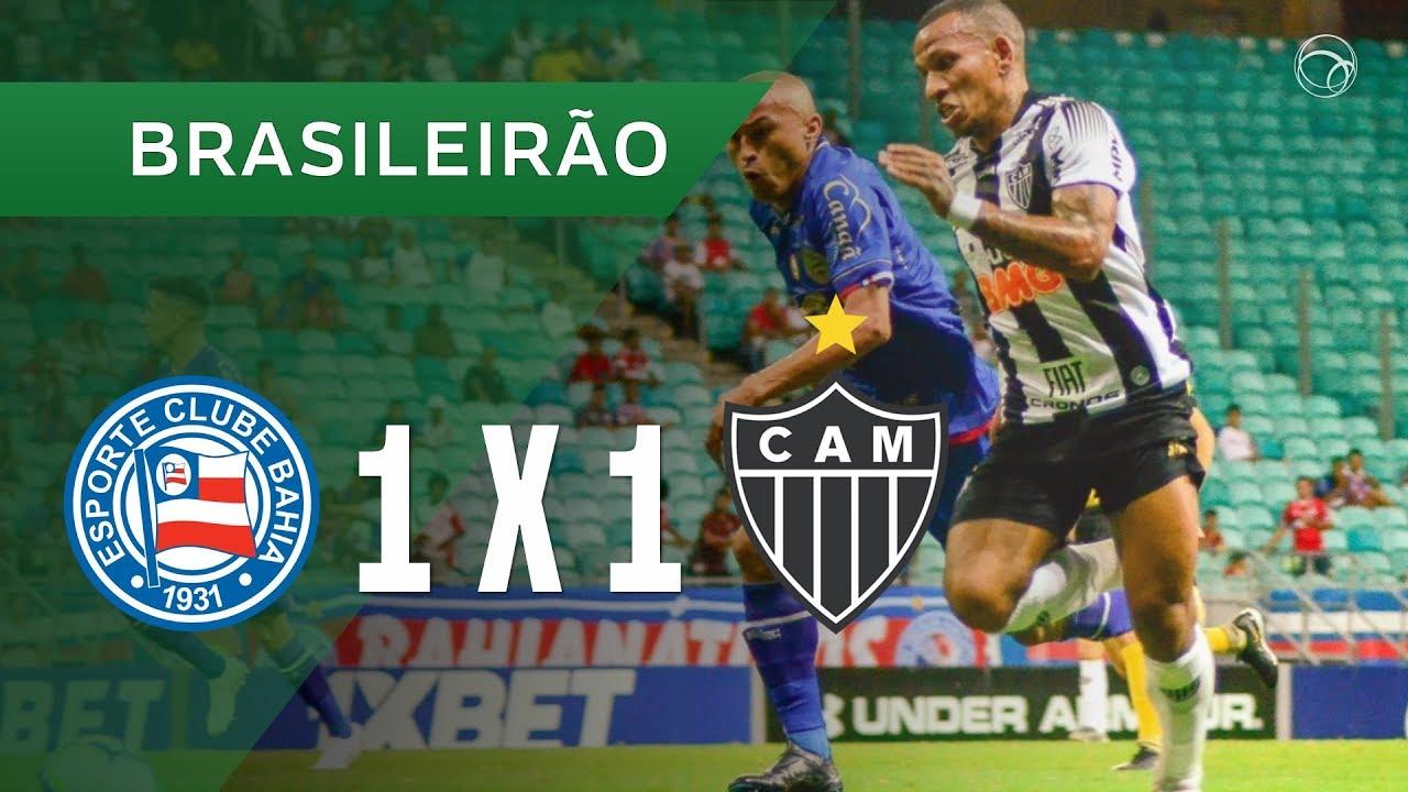 Баия  1-1  Атлетико Минейро видео