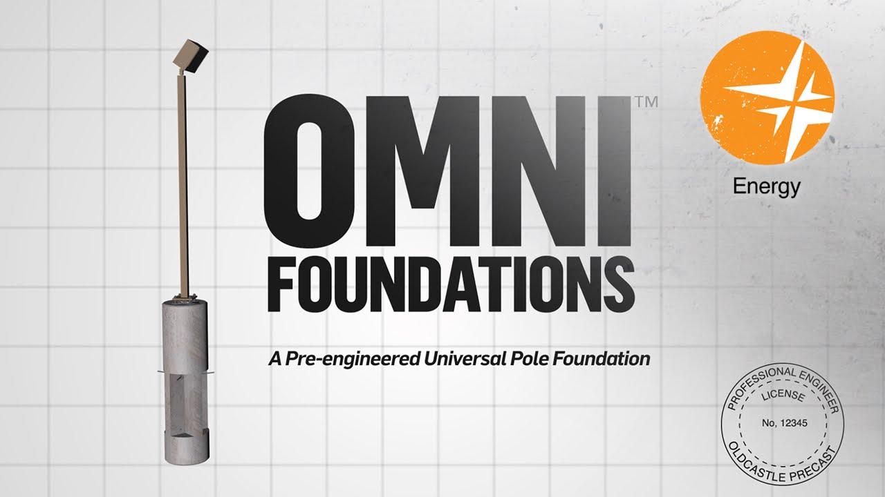 Omni Foundations - Universal Lamp Pole Foundation