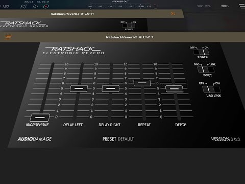 RatshackReverb 3 By Audio Damage - Demo & Review for the iPad