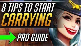 8 Tips EVERY ASHE Needs to MASTER - Grandmaster Gameplay Tricks - Overwatch Guide