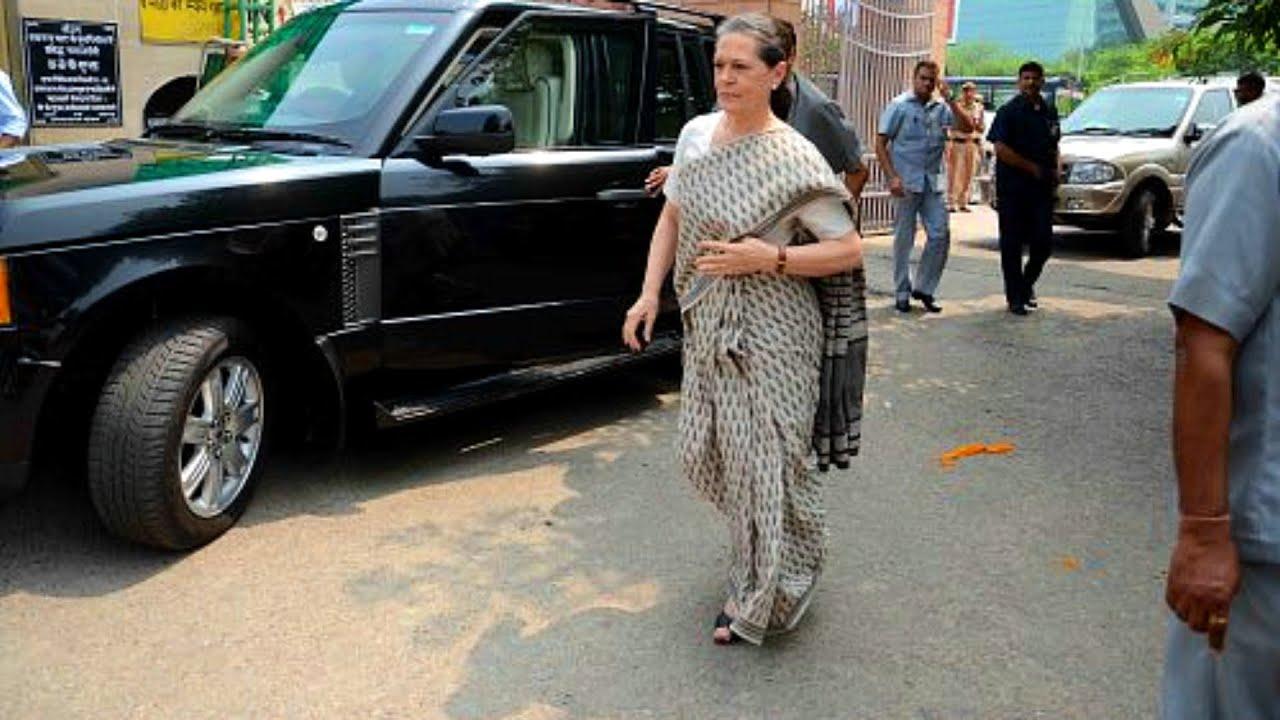 Sonia Gandhi Car Collection | Bulletproof Range Rover | Indian Politician