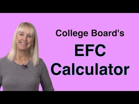 College Board's EFC Calculator