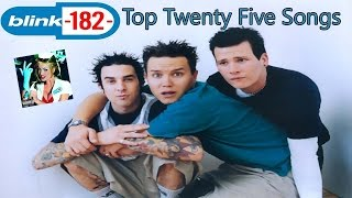 Download Top Twenty-Five blink-182 Songs (1995-2012) MP3 song and Music Video