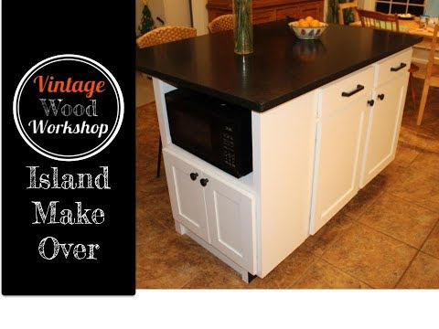 Building a Kitchen Island Extension Cabinet- Kitchen Remodel #3