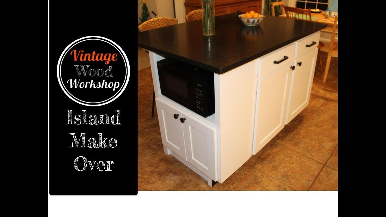 Building A Kitchen Island Extension Cabinet Kitchen Remodel 3