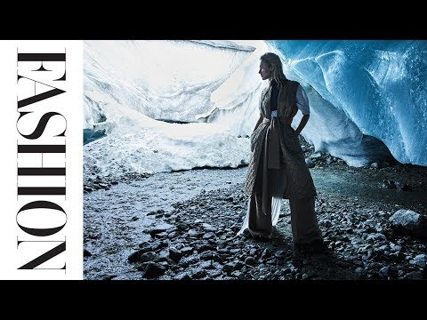 We Did Our Fall/Winter Photoshoot in an Ice Cave. Here's How We Pulled it Off.