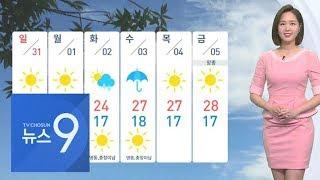 [날씨] '서울 29도' 한여름 더위…미세먼지 '일시 …