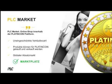 #PlatinCoin Platincoin   Deutsche Präsentation #PLC #group