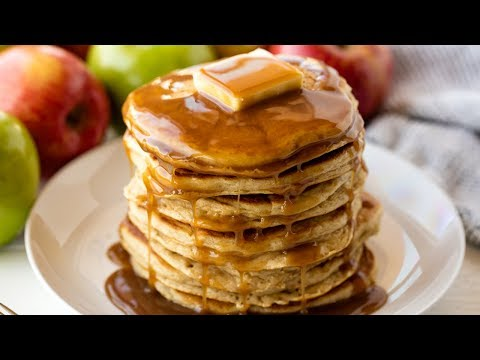 How to Make Easy Apple Pancakes | The Stay At Home Chef