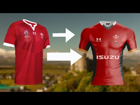 Remaking Wales's Rugby Kit!
