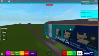 Arriva trains wales | Roblox | Train ride