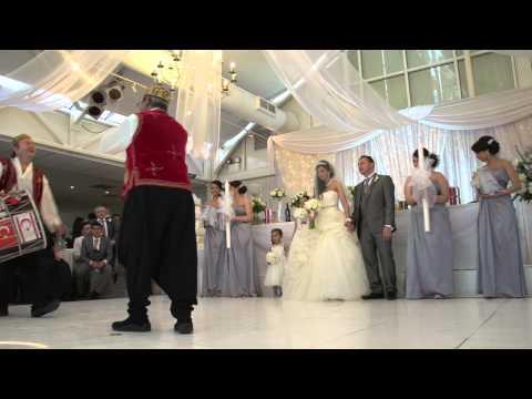 Jale & Fahri Wedding Clip Shot in Full HD With Crane Jib