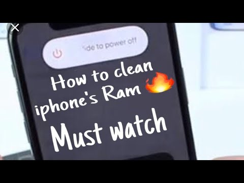 HOW TO CLEAN IPHONE RAM..🔥Very Easy must watch