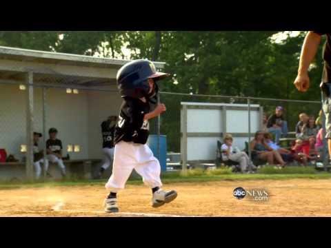 Josiah Viera tiny baseball player