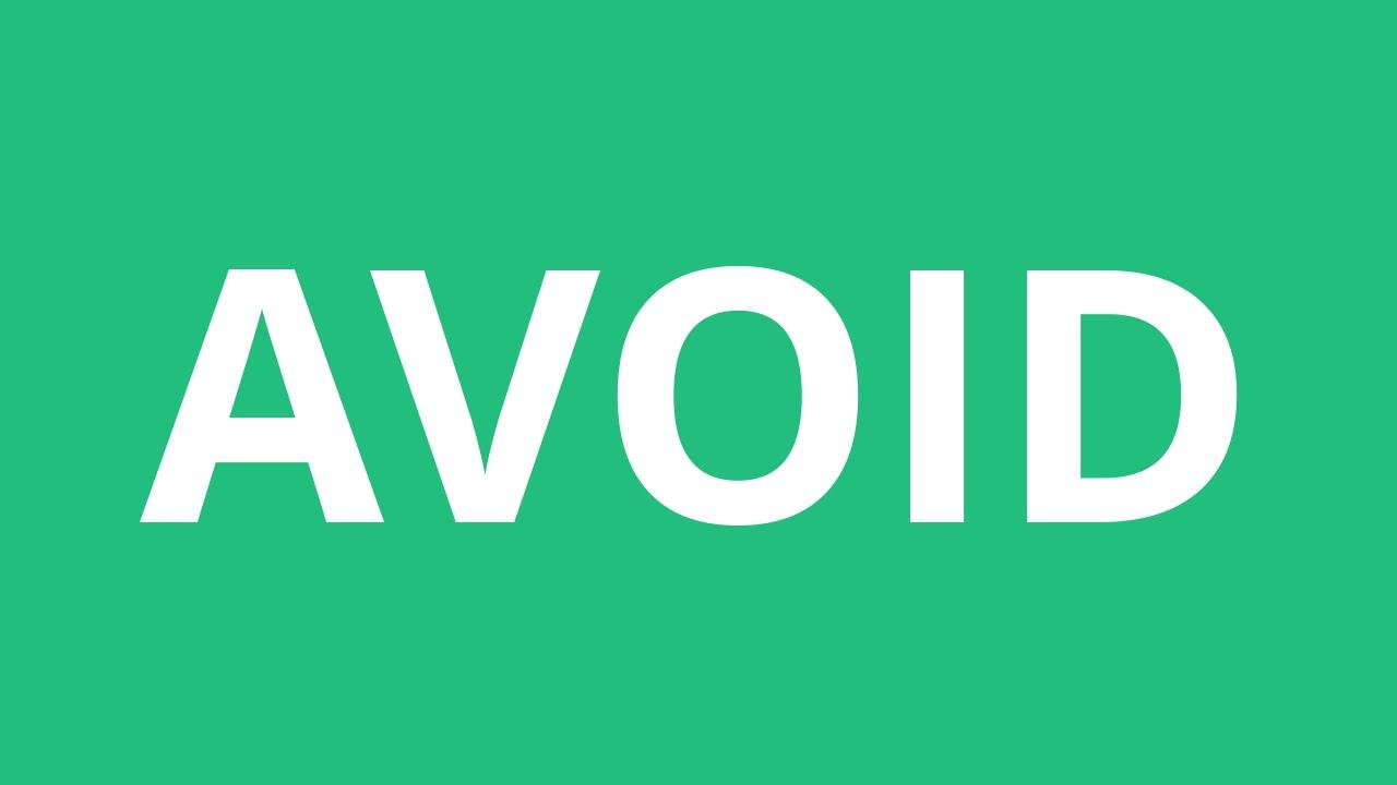 How To Pronounce Avoid - Pronunciation Academy